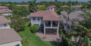 Low level aerial-home-photography
